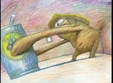 HOT DOG clip - by Bill Plympton