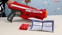 Magnus Mega Blaster / Wyrzutnia Magnus Mega - Nerf N-Strike - Hasbro - A4887 - Recenzja