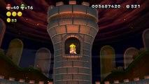 New Super Mario Bros. U - Château de Peach - 8-Château 2 : Le combat final + Fin