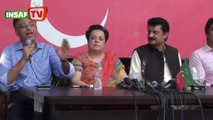 Govt stopped all PTI efforts to fix electoral system PTI Press Conference (Aug 3, 2014)