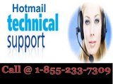 Hotmail Customer Service Number 1-855-233-7309 Hotmail Password Recovery