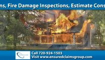 Hail Damage Inspection Colorado Springs | Ensured Claims Group