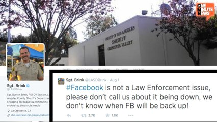 Facebook Went Down and Addicts Called 911
