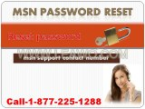 MSN Email Support Number |1-877-225-1288 |