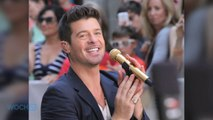 Robin Thicke -- Cancels Another Concert ... For The Beach