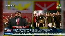 La extrema derecha fascista anda derrotada: Nicolás Maduro