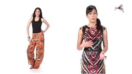 Balance the bulk of your outfit - Malini Ramani's tips for all girls!
