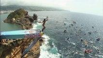 Plongeons du haut de falaises au Portugal!  - Red Bull Cliff Diving World Series 2014