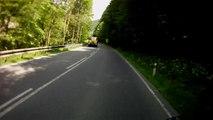 Szlovákia, 59-es út, 2. rész   Slovakia, road 59, part 2    Suzuki GS 500F