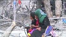 Visions de Beit Hanoun, détruite comme après un tremblement de terre