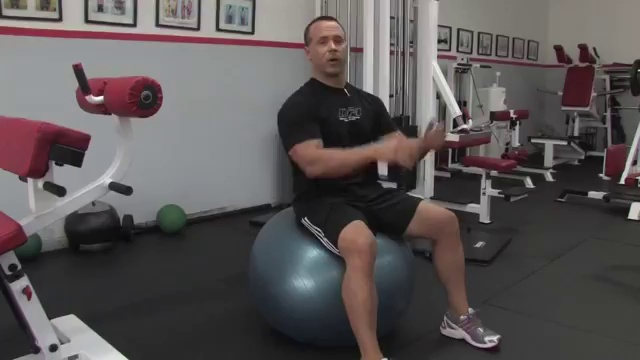 Exercise Techniques _ How to Do Sit-Ups on the Exercise Ball