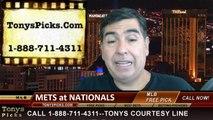 Washington Nationals vs. New York Mets Pick Prediction MLB Odds Preview 8-5-2014
