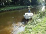 Canal de Nantes à Brest, association loi 1901 Défi Canal : video démonstration navigation n°2