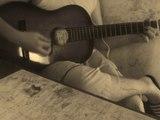 un petit air  musique à la guitare