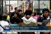 Perú: disminución de la lactancia materna afecta salud de los niños