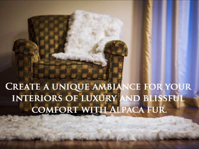 Luxurious Fur Throws From Alpaca Plush