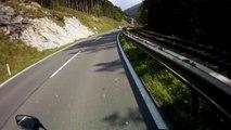 Ausztria, 21-es út, 12. rész   Austria, road 21, part 12    Suzuki GSX 650F