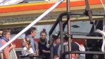 Batman v Superman : Dawn of Justice - Ben Affleck as Bruce Wayne, Batman v Superman, on set in Corktown, MI