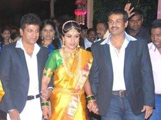 Shivarajkumars Daughters Engagement Pictures
