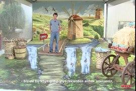 Ulker Saklikoy 3D Sokak Sanati ile hayat buldu