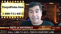 MLB Pick Washington Nationals vs. New York Mets Odds Prediction Preview 8-6-2014
