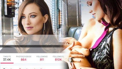 Olivia Wilde Makes Breastfeeding 'Glamour'-ous
