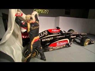 ロータス2013年F1マシンE21発表会