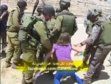 Arrest of a Woman by Israeli Soldiers