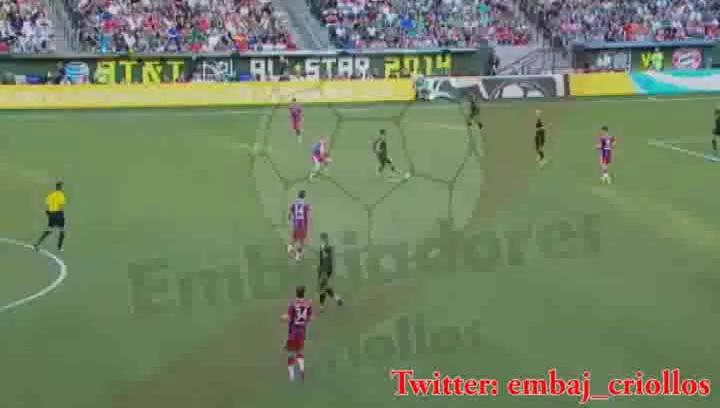 Highlights de Claudio Pizarro vs MLS All Stars