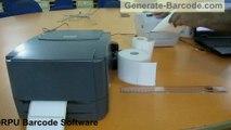 Process to print 2D Barcodes using thermal printers