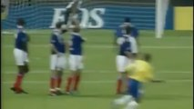 Roberto Carlos vs Physics Roberto (Carlos scored this free kick 17 years ago today. Was it one of the best ever-)Wow! - Never Miss The Video