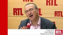 """Présidence UMP : """"Notre parole d'opposition est à peine audible"""", estime Hervé Mariton"""