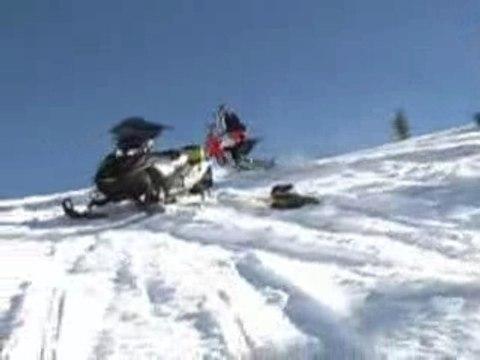 La vrai Moto neige