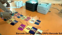 Design and print barcode labels with laser and thermal printer