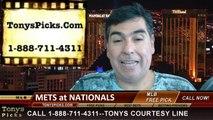MLB Odds Washington Nationals vs. New York Mets Pick Prediction Preview 8-7-2014