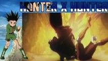 hunter x hunter gon vs pitou - gon vs pitou