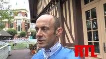 Interview de Olivier Peslier, jockey de THAWAANY