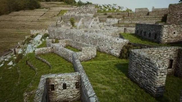 Machu Picchu en 3D