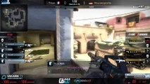 Starladder X - Titan vs mousesports - de_mirage