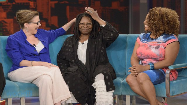 Whoopi Goldberg Misses Jenny McCarthy And Sherri Shepherd's Last Live Episode Of The View, But Jenny Still Gets A Solid Farewell