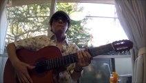[Solo Guitar] 『CRAZY G on the Guitar』 (Ukulele Standard Hawaiian tradition) Played by YOSHINORI TANAKA 田中佳憲 sheet music tablature Guitar arrange solo