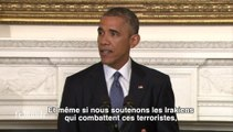 """Obama autorise des """"frappes aériennes ciblées"""" en Irak"""