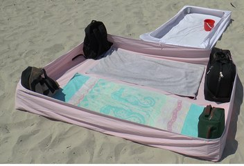 How to protect your beach towel from the sand - Do it yourself  DiY