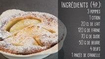 Recette de clafoutis aux pommes et au citron - Vie Pratique Gourmand