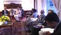 US Defence Secretary Chuck Hagel meets PM Narendra Modi