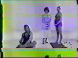 Demostración TV inglesa de mis dos buenos amigos Radha y Derek en memoria de Derek ireland