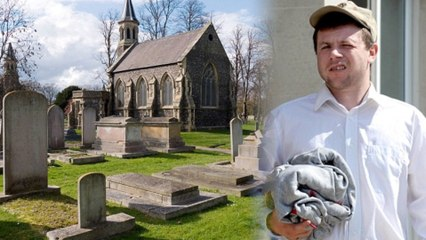 'Cemetery Ghost' Arrested for Annoying Mourners