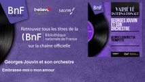 Georges Jouvin et son orchestre - Embrasse-moi o mon amour
