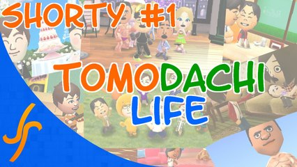 Tomodachi Life Shorty - Rock and Roll concert