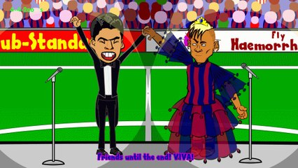 LUIS SUAREZ BARCELONA TRANSFER - press conference by 442oons (Suarez signs for / joins Barcelona)